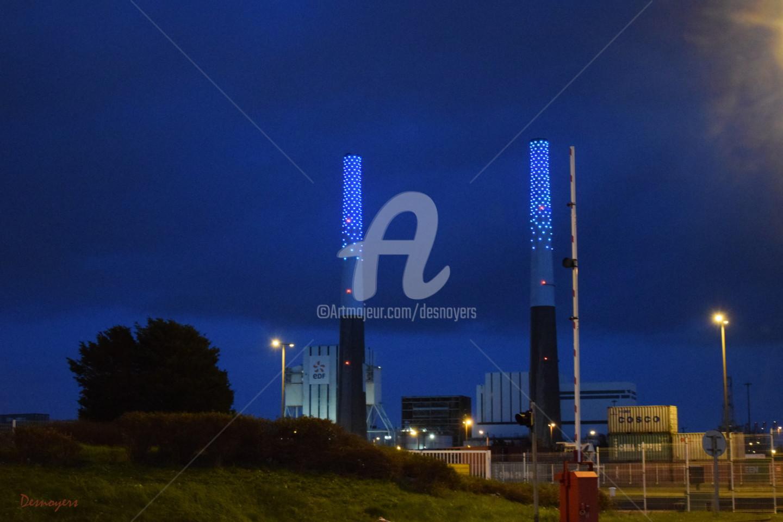 Desnoyers - Cheminée et amer du Havre