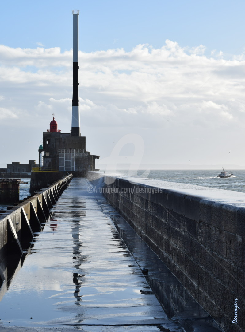 DESNOYERS - Le jetée Nord du Havre