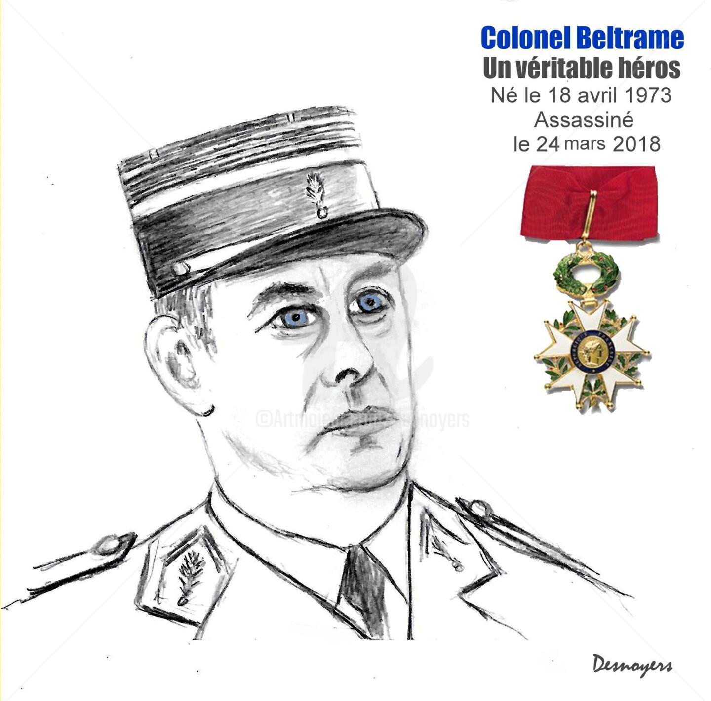 Desnoyers - Colonel Arnaud Beltrame