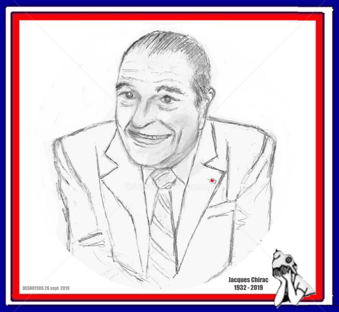DESNOYERS - Hommage à Jacques Chirac