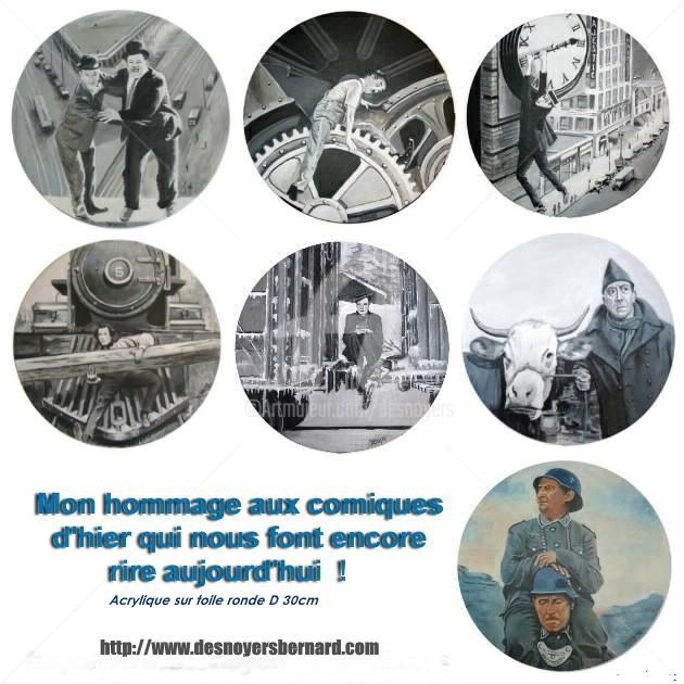 DESNOYERS - HOMMAGE AUX COMIQUES