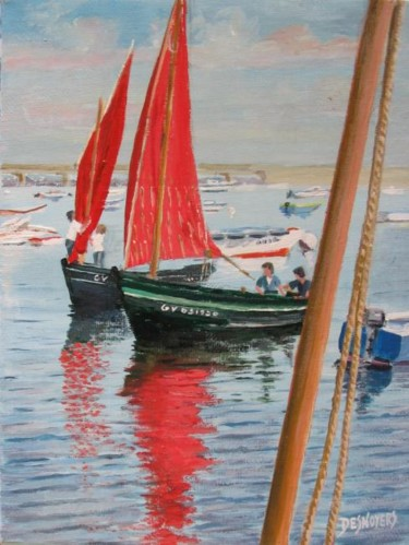 Voiles rouges