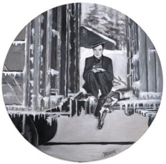 Buster Keaton à froid