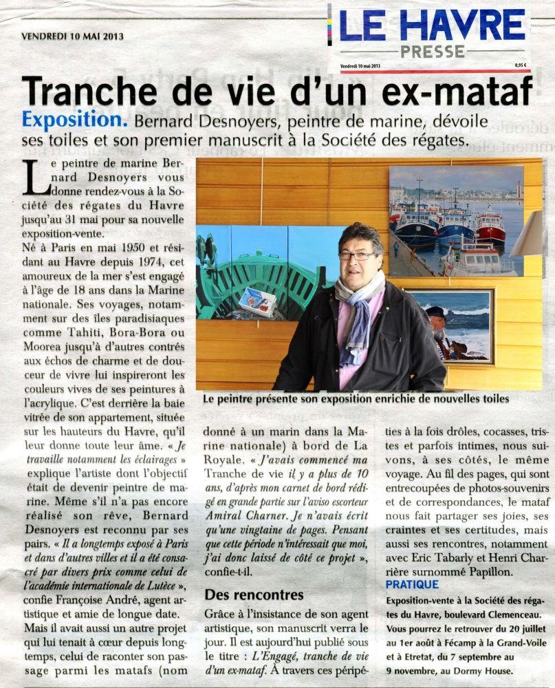EXPOSITION Société des Régates du Havre 2013