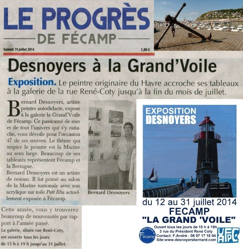 Expo Grand voile 2014