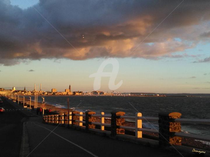 DESNOYERS - Couleur du soir au Havre