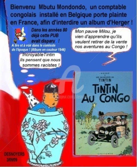 DESNOYERS - TINTIN AU CONGO