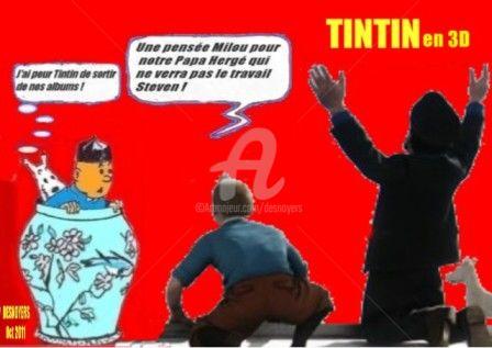 DESNOYERS - TINTIN DE STEVEN SPIELBERG