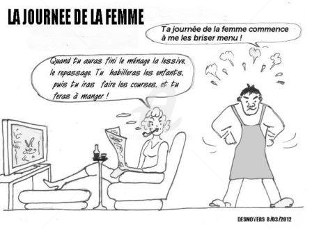 DESNOYERS - LA JOURNEE DE LA FEMME